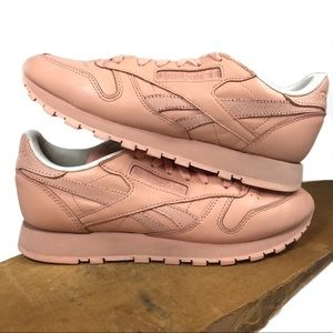 Reebok X Face Stockholm Pink Classic Trainer Shoe